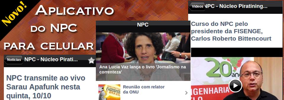 NPC lança aplicativo para celular