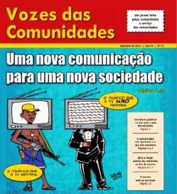 Jornal Vozes das Comunidades 2011
