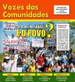 Jornal Vozes das Comunidades 2012