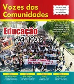 Jornal Vozes das Comunidades 2013