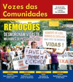 Jornal Vozes das Comunidades 2014