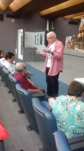 Vito Giannotti ministrou a já tradicional oficina de linguagem