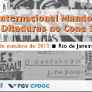 I Seminário Internacional Mundos Do Trabalho E Ditaduras No Cone Sul