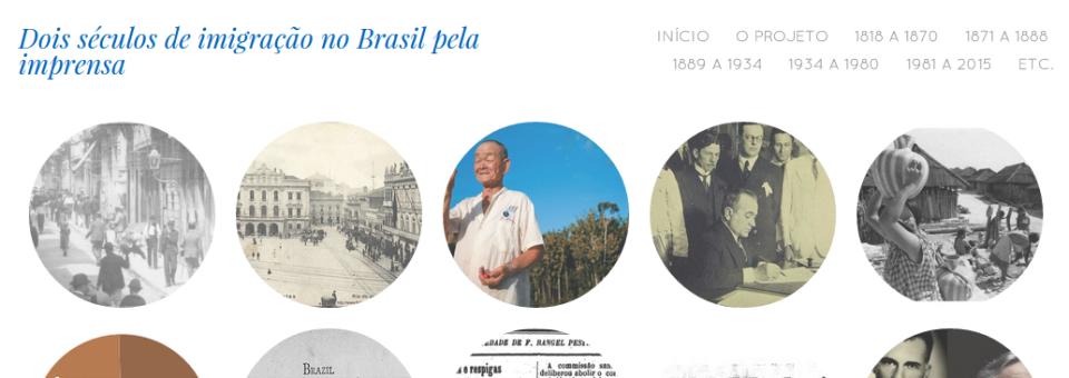 200 anos de imigração no Brasil por meio da imprensa