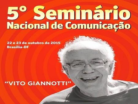 """CNTE realiza V Seminário de Comunicação """"Vito Giannotti"""""""
