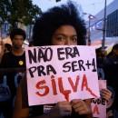 Protesto contra o genocídio da juventude negra