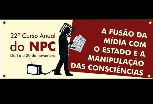 Estão abertas as inscrições para o 22º Curso Anual do NPC!