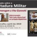 Curso de Comunicação Popular do NPC homenageia Vito Giannotti