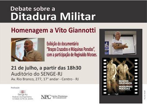 Homenagem a Vito Giannotti