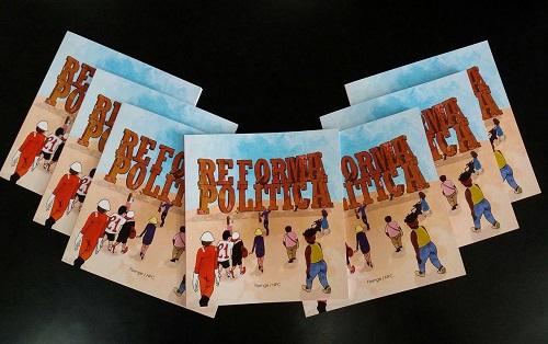 Fisenge e NPC lançam cartilha sobre a Reforma Política
