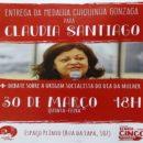 Claudia Giannotti, coordenadora do NPC, será homenageada com a medalha Chiquinha Gonzaga