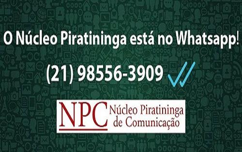 Núcleo Piratininga de Comunicação (NPC) lança plataforma de comunicação via Whatsapp