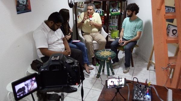Espaço Gramsci recebe o jornalista Beto Almeida